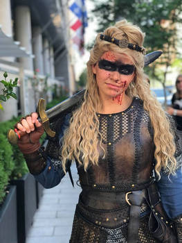 Lagertha Cosplay leather armor