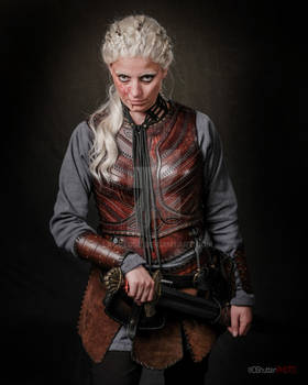 Torvi cosplay leather armor viking