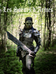 female orc leather armor