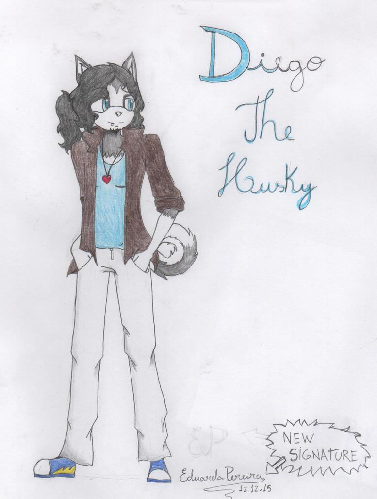 Diego's Design (A.K.A Alexy's boyfriend) by Eduardathewolf