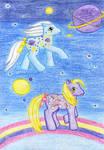 Night Glider and Merriweather by NormaLeeInsane