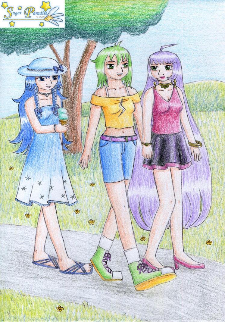 Summer walk for izka197 by NormaLeeInsane