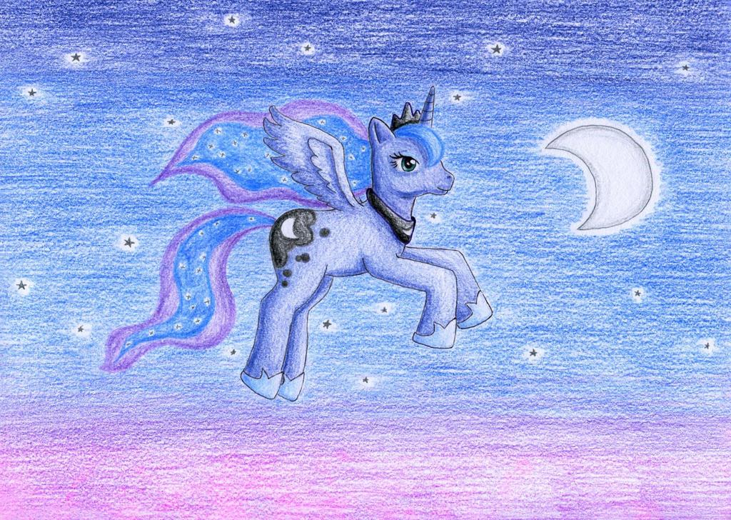 Princess Luna by NormaLeeInsane