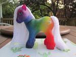 Rainbow Cloud custom by NormaLeeInsane