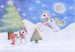 Lil Holly and Glitter Wishes by NormaLeeInsane