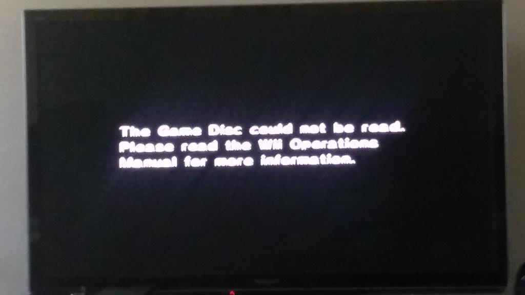 Wii Error by TechnoPonyWardrobeDA