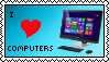 (STAMP) I Love Computers
