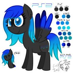 New Console Pony - PS2! by TechnoPonyWardrobeDA