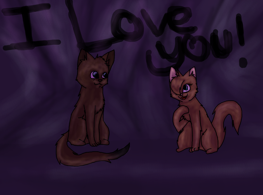 I love you! by AbrilComeElotes