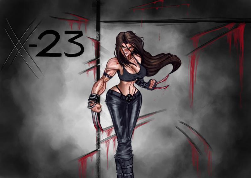 X-23 by kaze5115