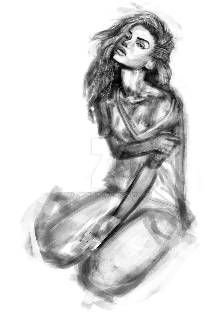 Portrait Practice #1 by kaze5115