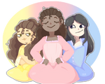 The Schuyler sisters. . .Work!