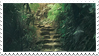 forest path stamp