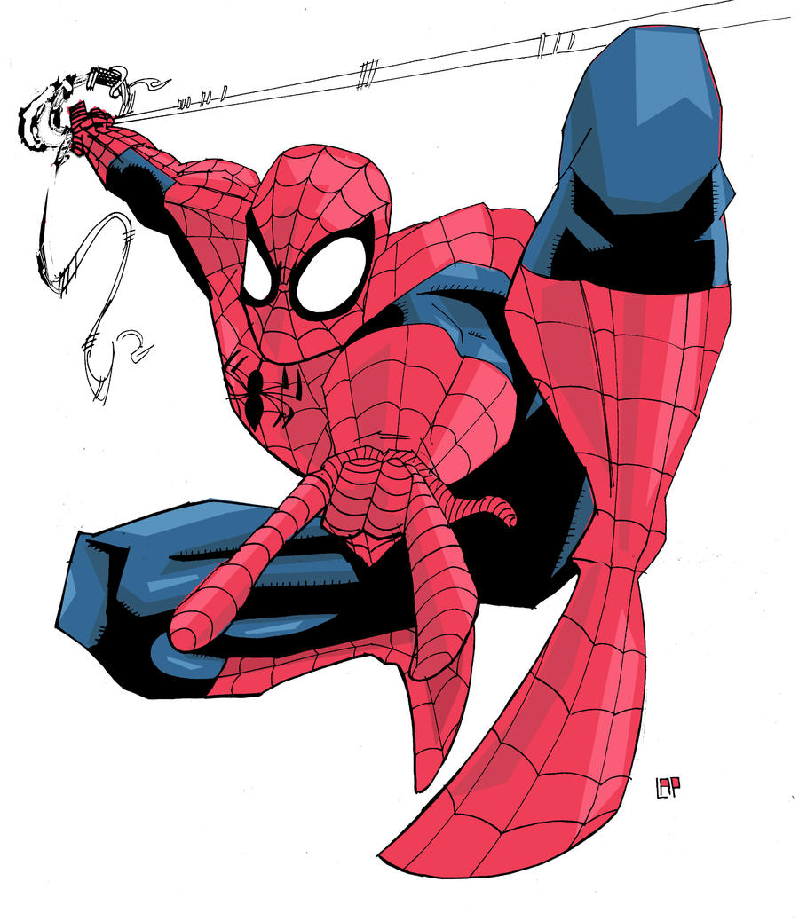Spidey Pen test by future-parker