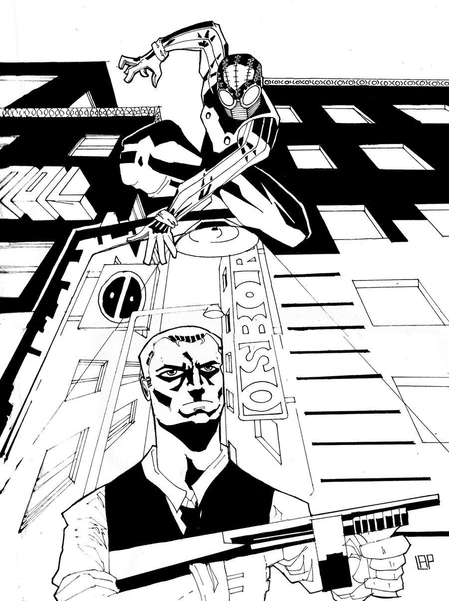 Spiderman noir 2 by futureparker