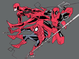 Marvel red team by future-parker