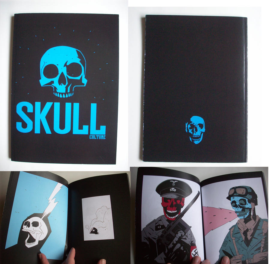 SKULL CULTURE BOOK by future-parker