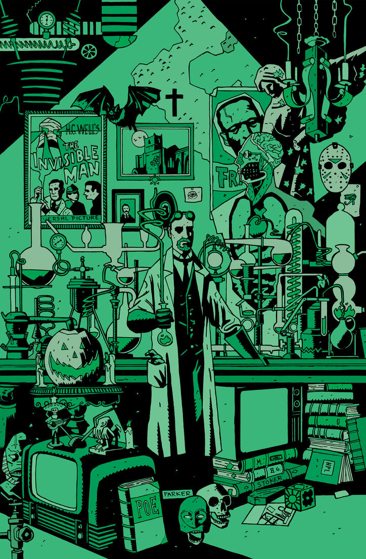 DR GANGRENE PIN UP by future-parker