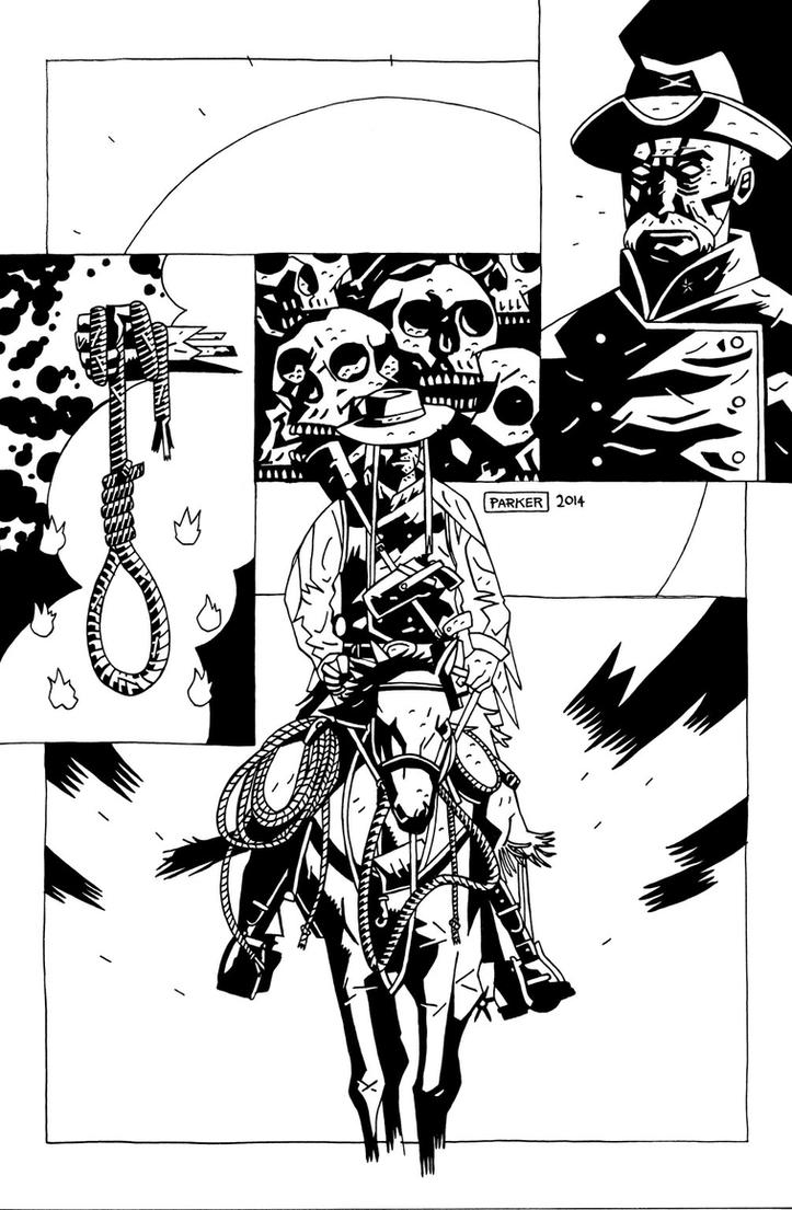GRUESOME GRIGGS PIN UP INKS by future-parker