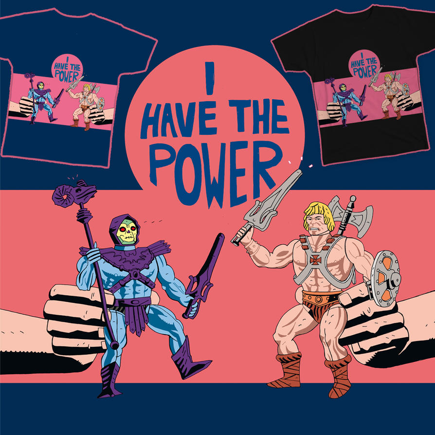 MASTERS OF THE UNIVERSE T-SHIRT DESIGN by future-parker