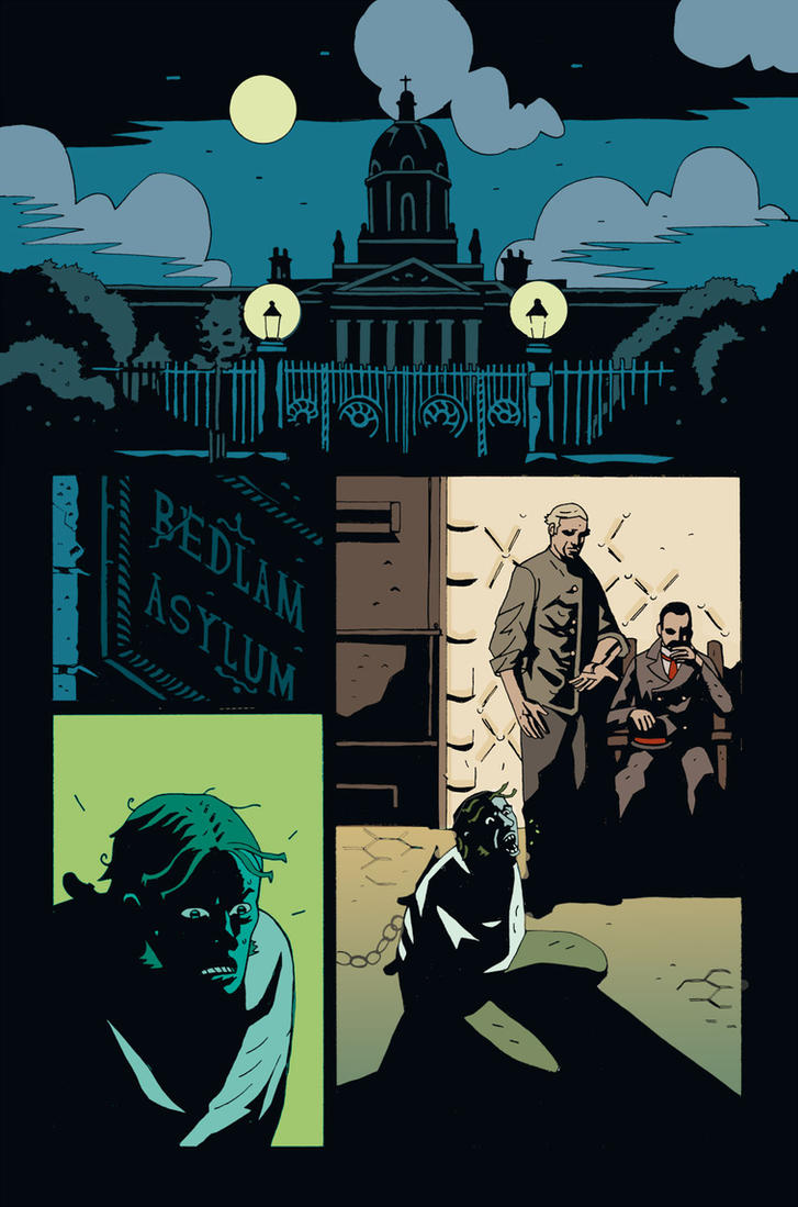 MERRICK #5 PG 1 UNLETTERED by future-parker