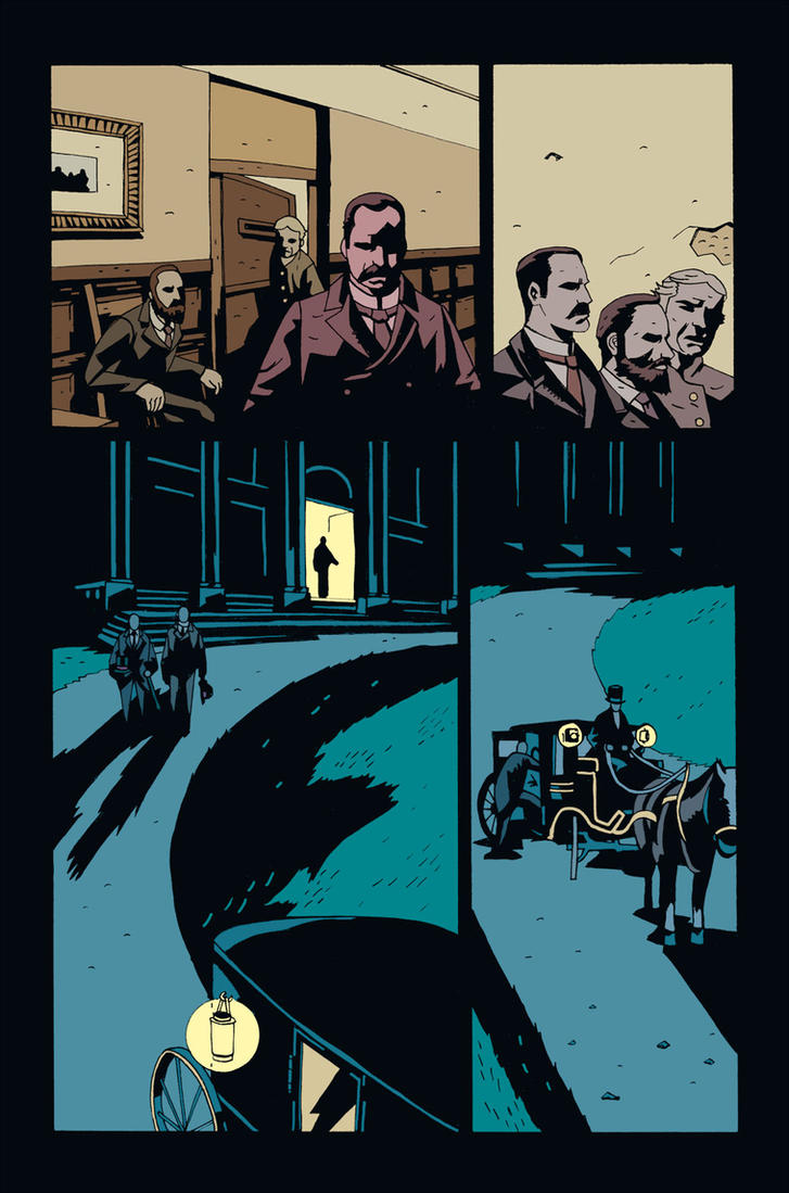 MERRICK #5 PG 2 UNLETTERED by future-parker