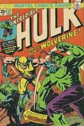HULK #181 COVER RECREATION