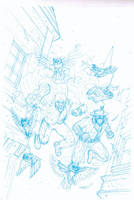 MERRICK / DOCTOR CROWE COVER PENCILS by future-parker