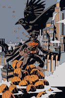 HALLOWEEN EAGLE by future-parker