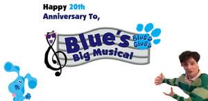 Happy 20th Anniversary, Blue's Big Musical Movie