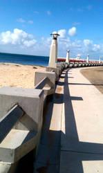 Beach Scenery - Stock