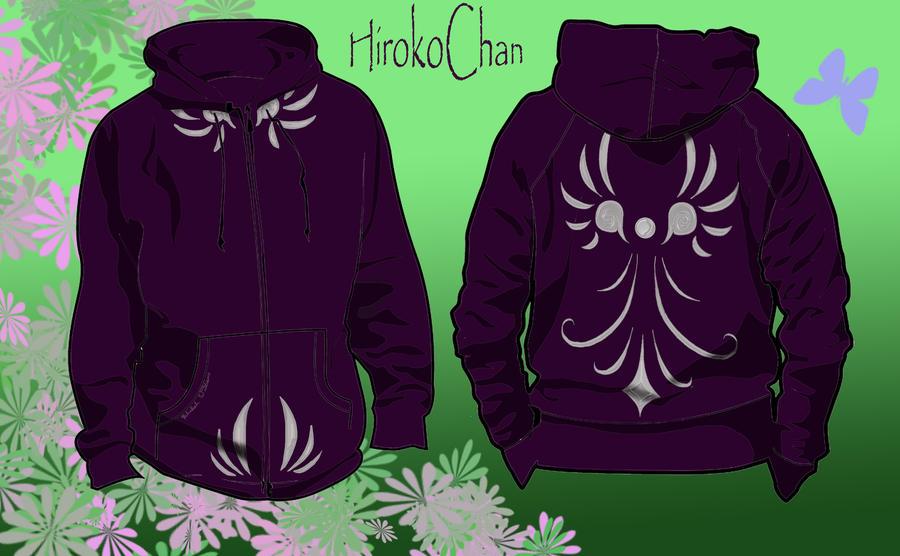 Wings Hoodie Design by HirokoChan