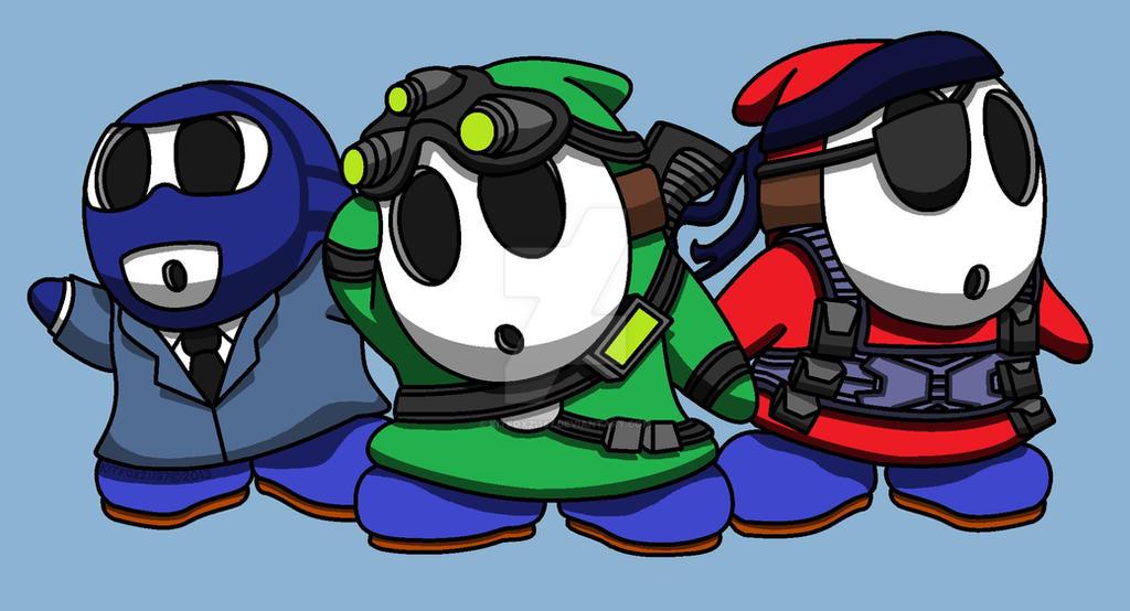 ''Spy Guys'' by kitfox21187