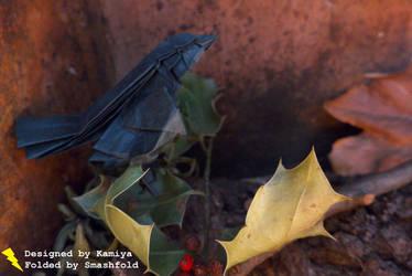 Satoshi Kamiya Origami Sparrow