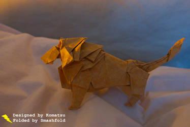 Origami Lion - Komatsu