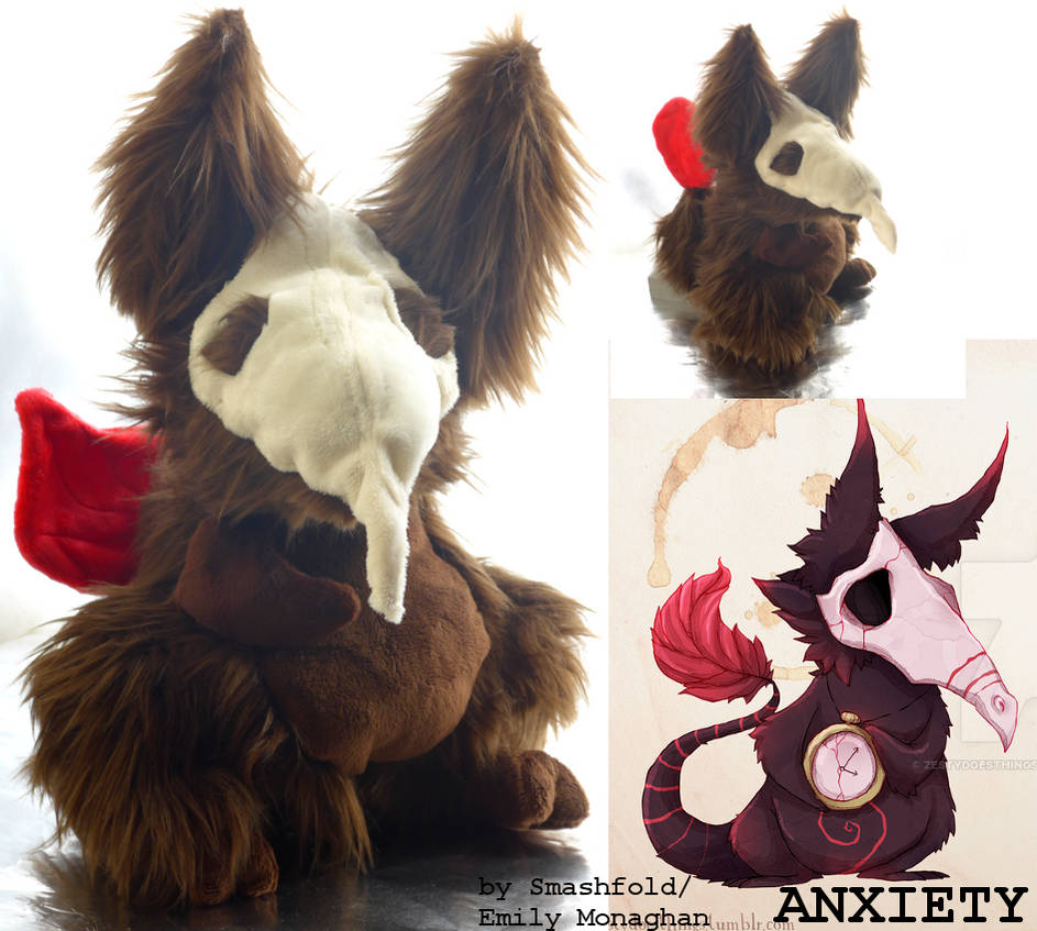 Anxiety: the Real Monster plushie! (WAITLIST OPEN)