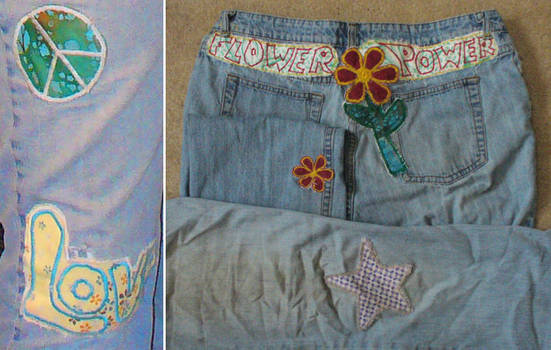Patches for old jeans