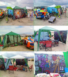 Burning Man Camp 2010