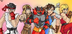 Super Smash Bros Ultimate Jojo Poses
