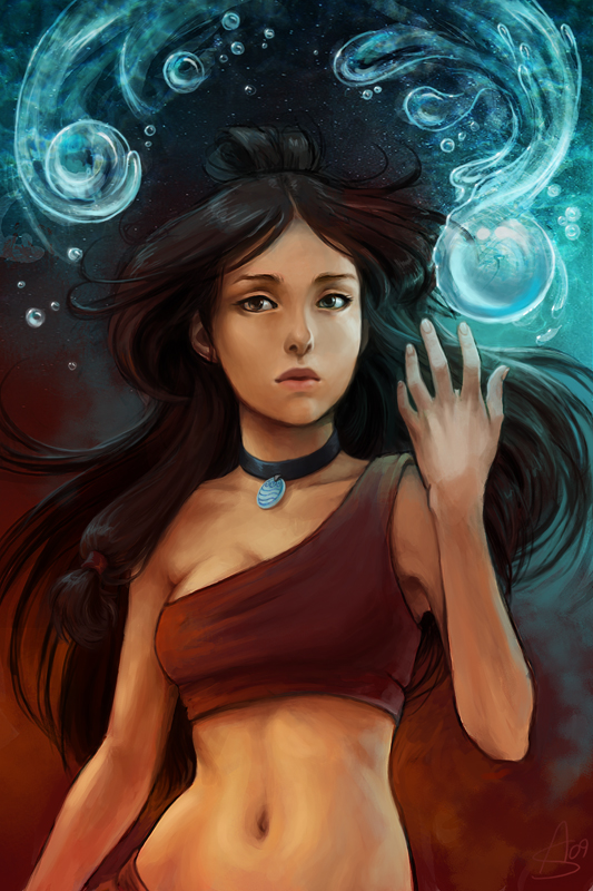 The Waterbender by depingo
