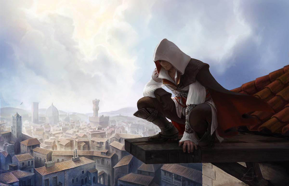 Ezio Auditore da Firenze by depingo