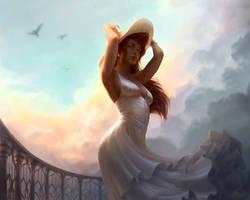 A Fresh Breeze by depingo