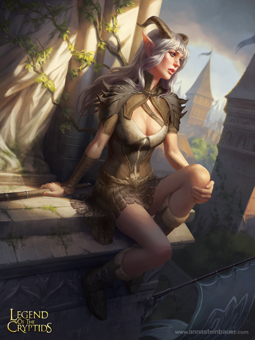 Demon Girl by depingo