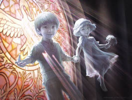 MtG Blessed Spirits by depingo