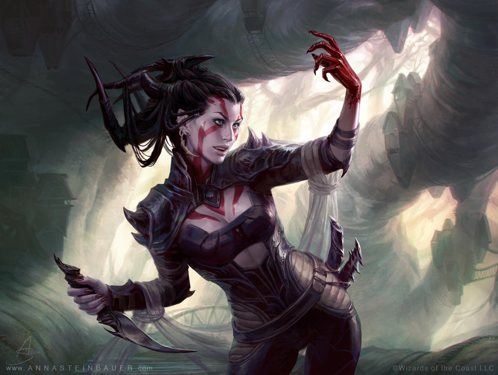 MtG Bloodbond Vampire by depingo