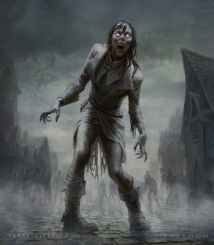 MtG Zombie Token
