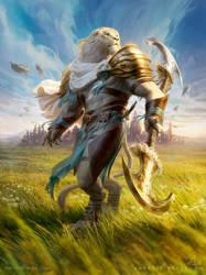 MtG Ajani, Valiant Protector