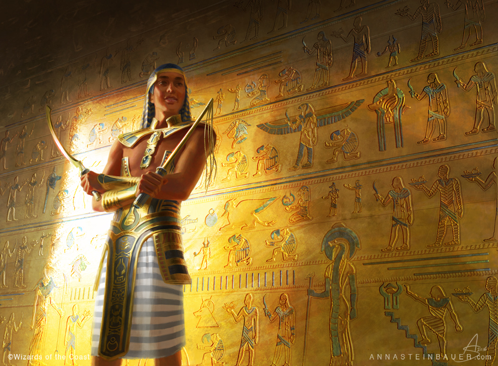 MtG Temmet, Vizier of Naktamun by depingo