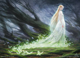 MtG Elvish Spirit Guide by depingo