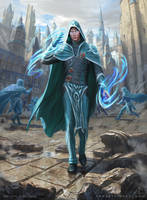 MtG - Jace, Wielder of Mysteries by depingo
